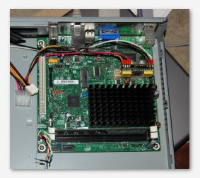 D510 motherboard with PicoPSU